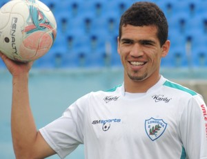 Neílson atacante londrina treino (Foto: Divulgação/site oficial do Londrina Esporte Clube)