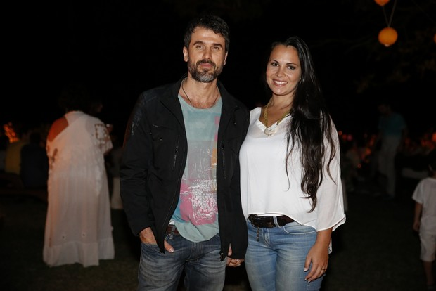 Eriberto Leão e a mulher (Foto: Felipe Panfili / AgNews)