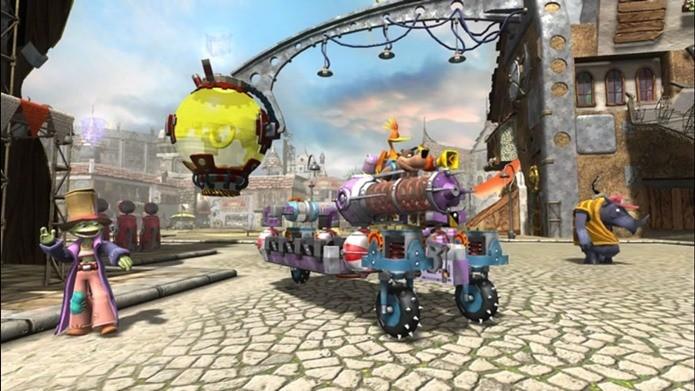 Banjo Kazooie Nuts & Bolts tem jogabilidade diferente e conceito inovador (Foto: Divulgação)