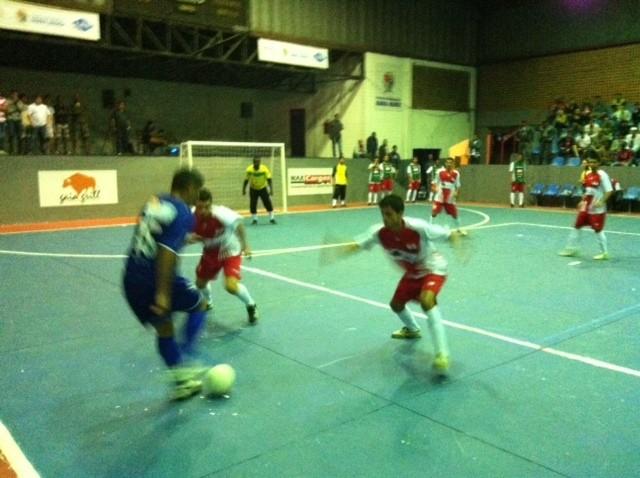 Barra Mansa x Volta Redonda pela Copa Rio Sul de Futsal. (Foto: Alysson Costa/TV Rio Sul)