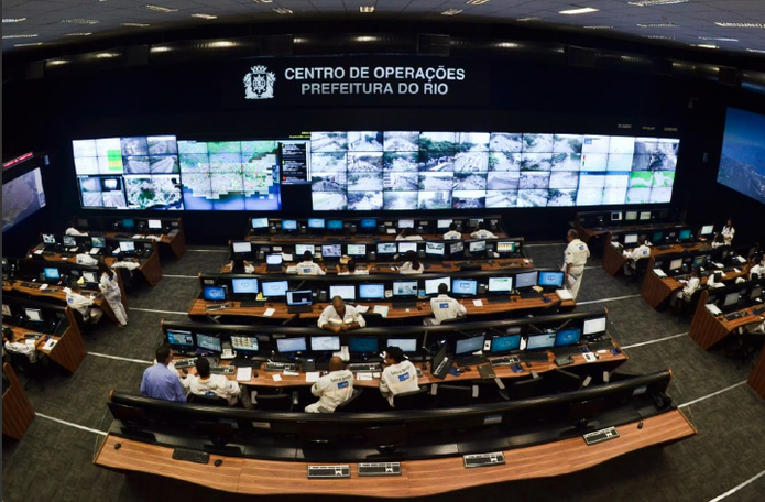 Centro de Operações do Rio de Janeiro (COR) (Foto: Divulgação/Pefeitura do Rio)