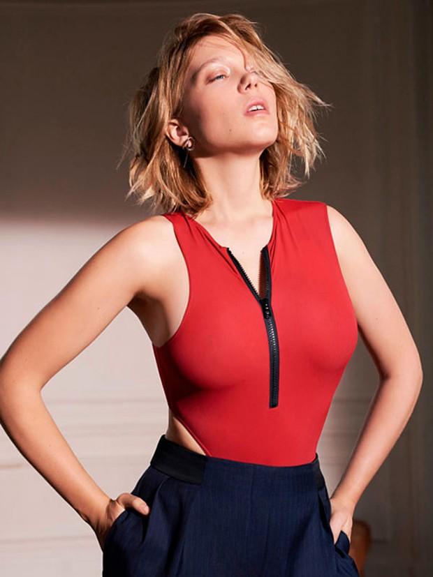 Léa Seydoux (Foto: Reprodução/Esquire)