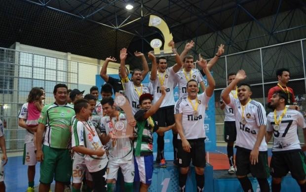 Neo FC foi a equipe vencedora da Copa Rede Amazônica de Futsal (Foto: Bruna Cássia/Rede Amazônica)