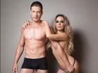 Ju Isen posa nua e sensualiza em fotos com modelo: 'Não sou para casar'