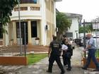 Preso em SC pela Operação Lava Jato chega à Polícia Federal do PR