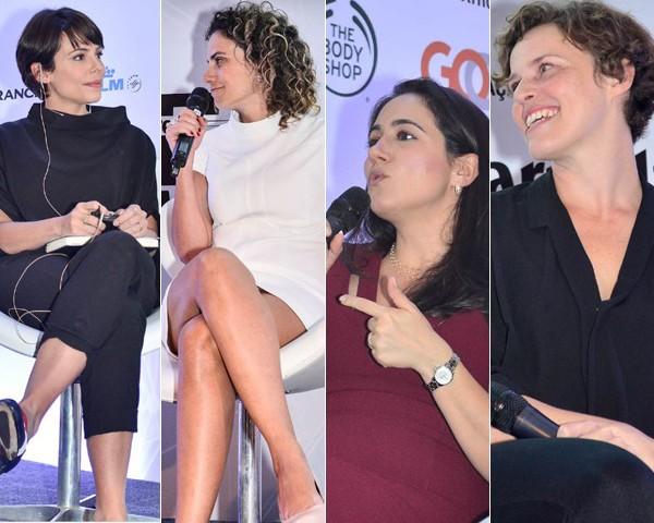 Maria Laura, Monica Blatyta, Cristina Junqueira e Barbara Soalheiro (Foto: Liane Neves)