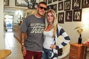 Bárbara Evans e Mateus Verdelho (Foto: Marcos Ribas / Foto Rio News)