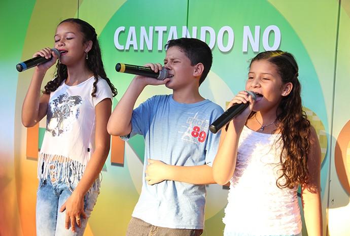 Trio participou da seletiva pela segunda vez e se classificou (Foto: Katiúscia Monteiro/ Rede Amazônica)