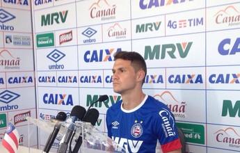 """Tiago celebra Bahia """"paciente"""" e ambiente mais leve: """"Sorriso fácil"""""""