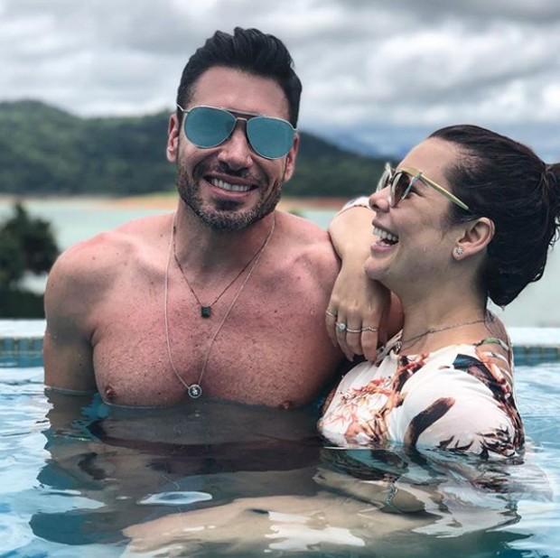 Rodrigo Sangion e Fernanda Souza (Foto: Reprodução/Instagram)