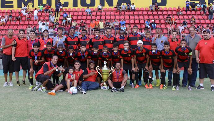Sport Sub-15 2015 (Foto: Divulgação / FPF-PE)