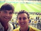 Ashton Kutcher vai ao Mineirão assistir a jogo da Copa do Mundo