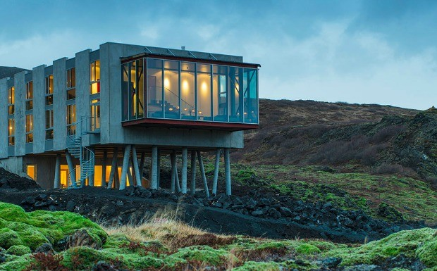 Casas integradas  natureza no abrem mo do luxo (Foto: Divulgao / ION Luxury Adventure Hotel)