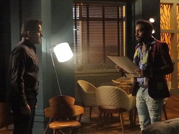 Jonas diz a Brian que seu estado piorou  (Foto: Geração Brasil/ TV Globo)