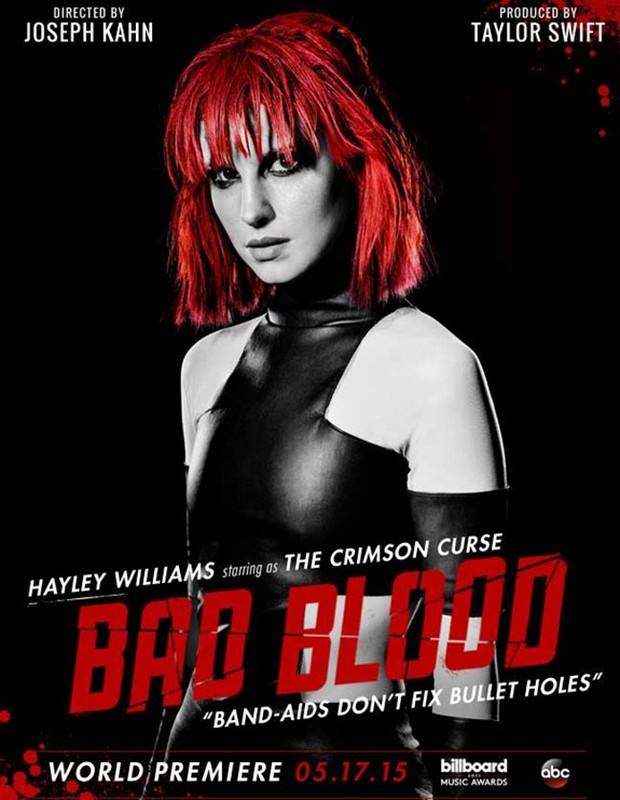 Hayley Williams é he Crimson Curse (Foto: Divulgação)