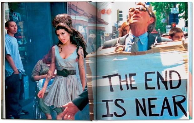 Amy Winehouse é apenas uma das interessantíssimas personagens das páginas de Lost + Found (Foto: Divulgação)