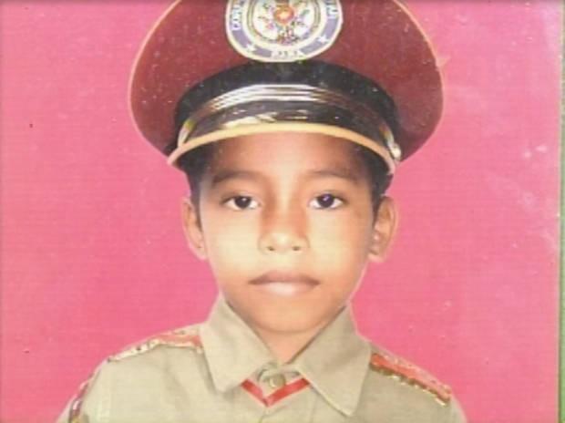 Daniel Alessandro, de 8 anos, morreu com tiro de espingarda enquanto brincava com outra criança. (Foto: Reprodução/ TV Tapajós)