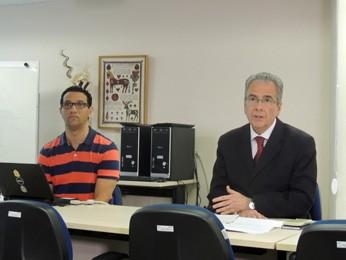 Carlos Calado, reitor da Universidade de Pernambuco (UPE) (Foto: Katherine Coutinho / G1)