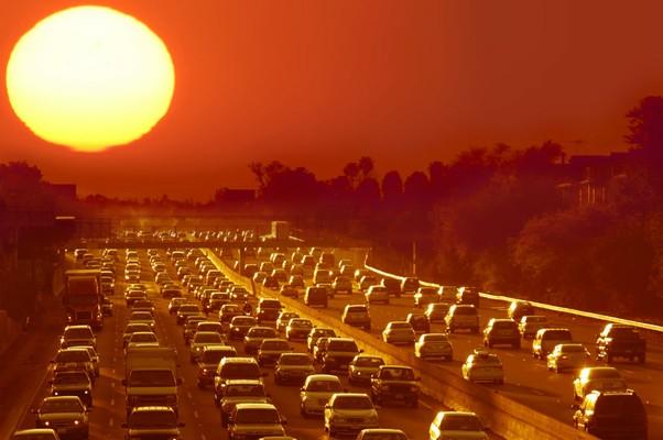 Fuja do calor no trânsito (Foto: Divulgação)