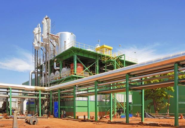 Usina de açúcar da Bunge (Foto: Divulgação)