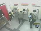 Polícia cede imagens da prisão de suspeito de roubar caixas eletrônicos