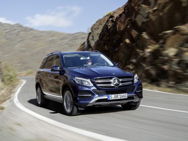 Mercedes-Benz GLE (Foto: Divulgação)