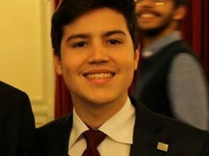 Augusto Sampaio fará apresentação de artigo sobre Três Poderes nos EUA (Foto: Augusto Sampaio/ Arquivo pessoal)