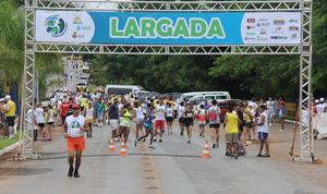 Corrida de rua em Lucas do Rio Verde (Foto: Ascom/Lucas do Rio Verde)