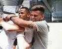 """Jogadores do Santos se despedem de Geuvânio: """"Sentiremos saudades"""""""