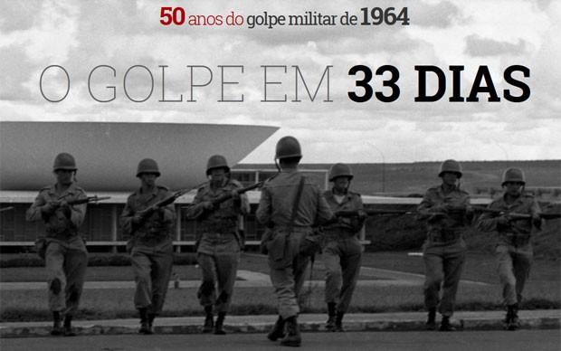 50 anos do golpe militar (Foto: Arquivo/Agência O Globo)