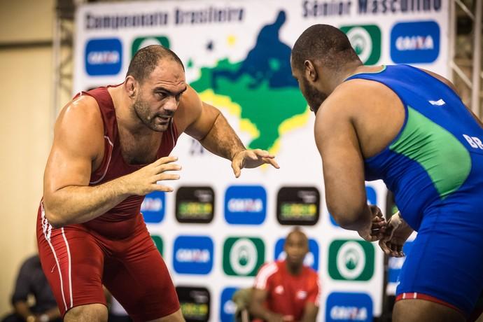 Antoine Jaoude luta olímpica estilo livre  (Foto: Divulgação)