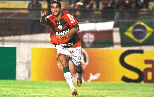 Bruno Mineiro,  Portuguesa x Palmeiras (Foto: Ale Vianna / Agência Estado)