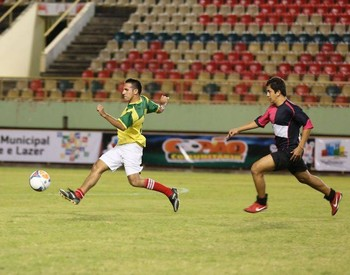 4º Copão Comunitário de futebol amador na Arena da Floresta (Foto: Marcos Vicentti)