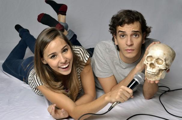 Thati e Victor vão se dividir entre os canais do Youtube e o palco (Foto: Ernani Pinho)