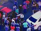 Técnicos de manutenção do Metrô do DF protestam contra atraso no salário