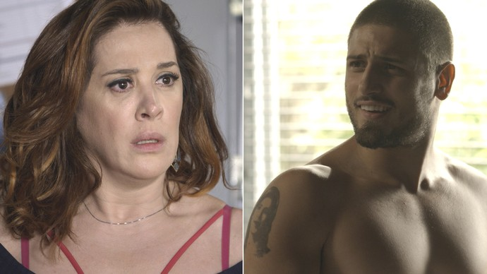Salete acredita que Gustavo cometeu o atentado contra Fausto (Foto: TV Globo)
