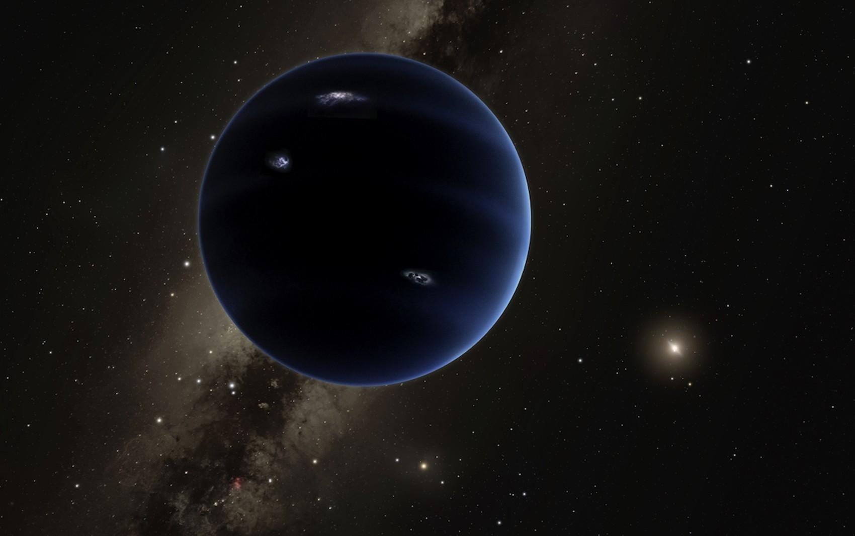 Planeta 9 vai ganhando cara