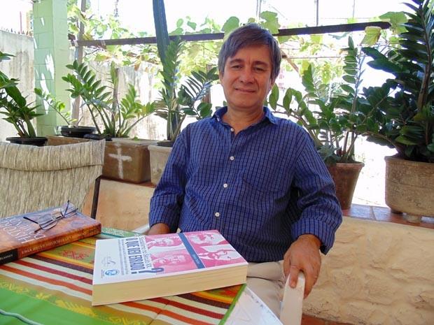 Robério Paulino é candidato do PSOL ao governo do Rio Grande do Norte (Foto: Fernanda Zauli/G1)