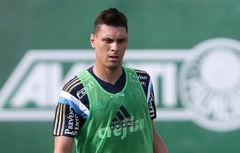 Opção para o meio, Moisés deve ser regularizado no Palmeiras até sexta