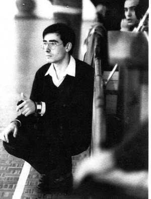 Jordi Ribera bem jovem, já como técnico de handebol (Foto: Reprodução/Facebook)