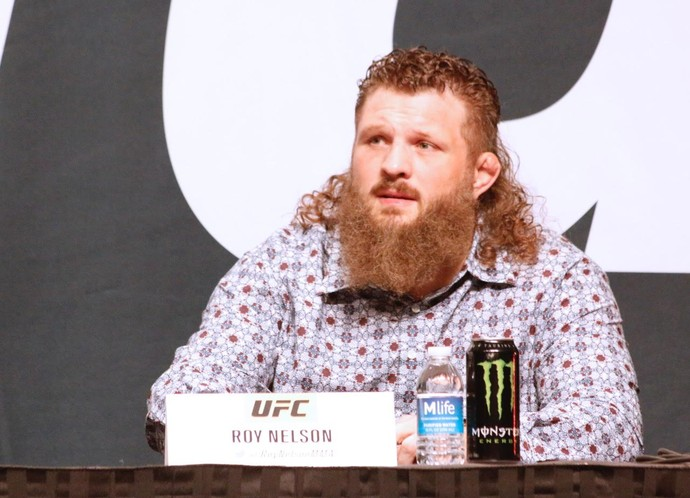 Roy Nelson UFC (Foto: Evelyn Rodrigues)