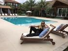 Susana Vieira aproveita início do ano para relaxar em Balneário Camboriú
