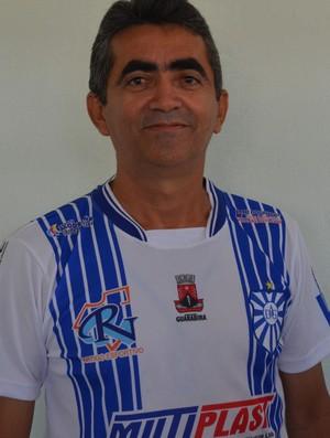 Domingos Sávio, presidente da Desportiva Guarabira (Foto: Hévilla Wanderley / GloboEsporte.com/pb)