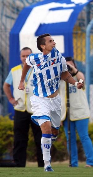Higor gol Avaí x Criciúma (Foto: Cristiano Andujar / Ag. Estado)