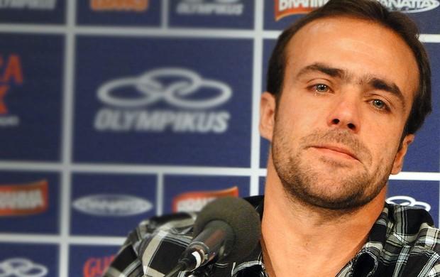 Roger do Cruzeiro (Foto: Marco Antônio Astoni / Globoesporte.com)