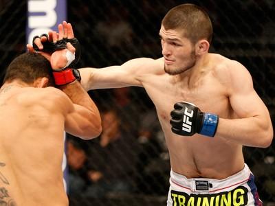 Rafael dos Anjos x Nurmagomedov UFC (Foto: Getty Images)
