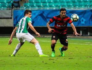 Arena Fonte Nova; Vitória x Coritiba; Galdezani; Cleiton Xavier (Foto: Maurícia da Matta/Divulgação/EC Vitória)