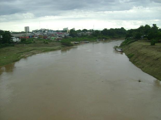 Rio Acre (Foto: Duaine Rodrigues/G1)