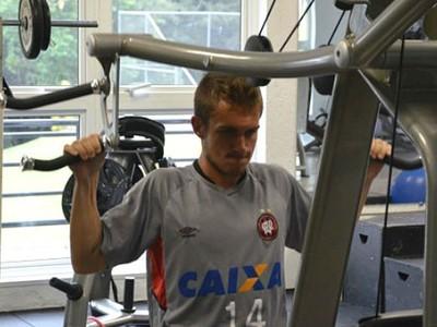 Jogadores do Atlético-PR se reapresentam no CT do Caju (Foto: Divulgação/ Site oficial Atlético-PR)