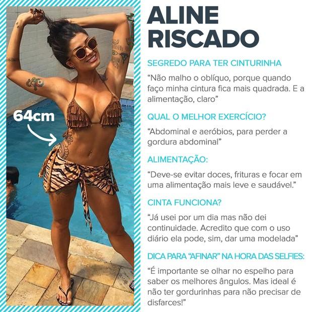 Cinturinhas - Aline Riscado (Foto: EGO)